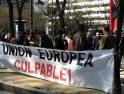SFF-CGT se manifiesta en Bruselas y se concentra en Madrid
