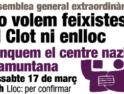 Comunicado de UCFR: Cerremos el local fascista Tramuntana