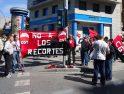 CGT en la manifestación de Alacant en defensa de los Servicios Públicos