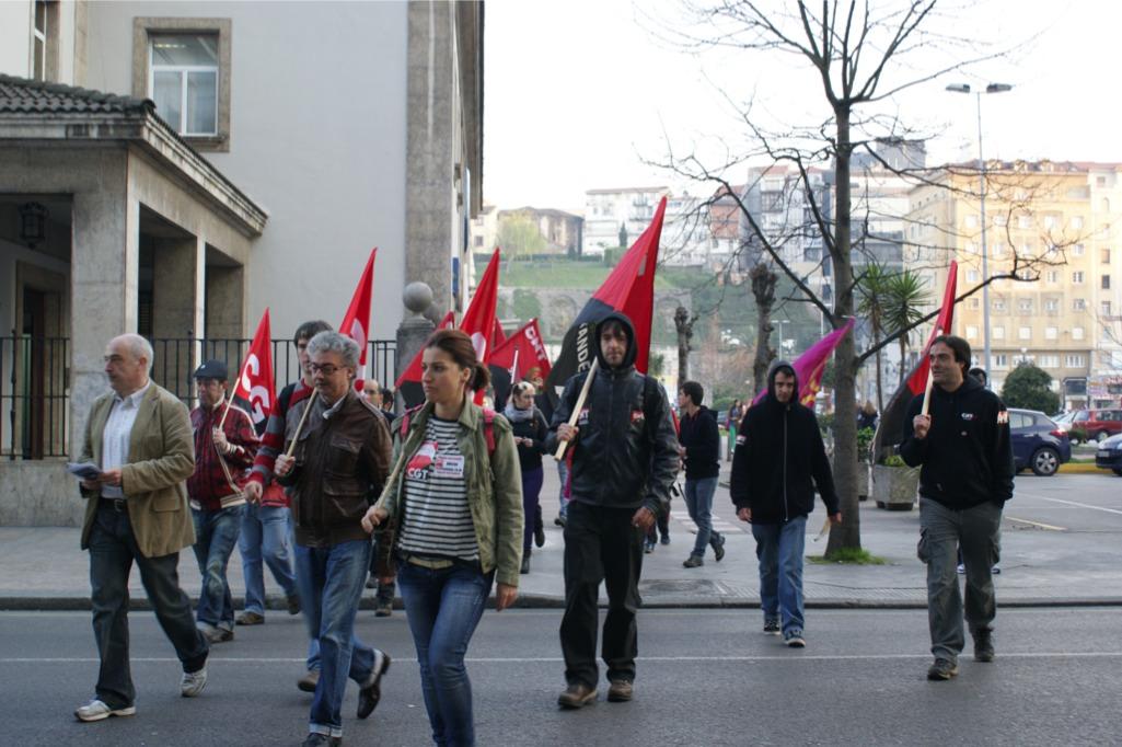 El 29 de marzo CGT Cantabria salió a la calle