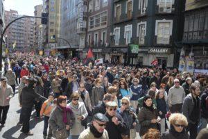7.000 personas por la Sanidad pública en Zaragoza (15a)