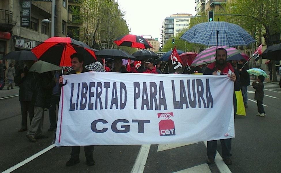 Solidaridad con Laura desde Salamanca