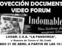 «Indomables» en el CSA La Pandorga de Conil