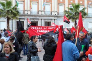 Huelga general del 29M en Huelva