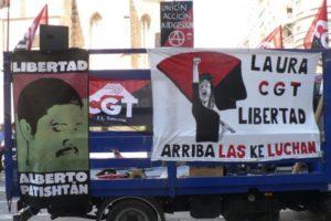 1º de mayo 2012: La CGT por el fin de la prisión política y la guerra al EZLN