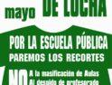 Castilla y León: Acciones por la Escuela Pública el 10 de mayo