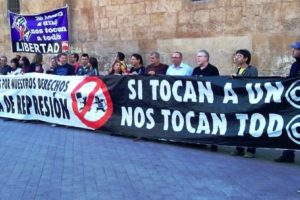 Concentración en Murcia para exigir la libertad de Laura