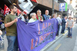 Nueva concentración en Valencia por la libertad de Laura