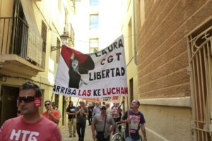 Movilizaciones 10M en Valencia: Laura libertad, EMT y estudiantes
