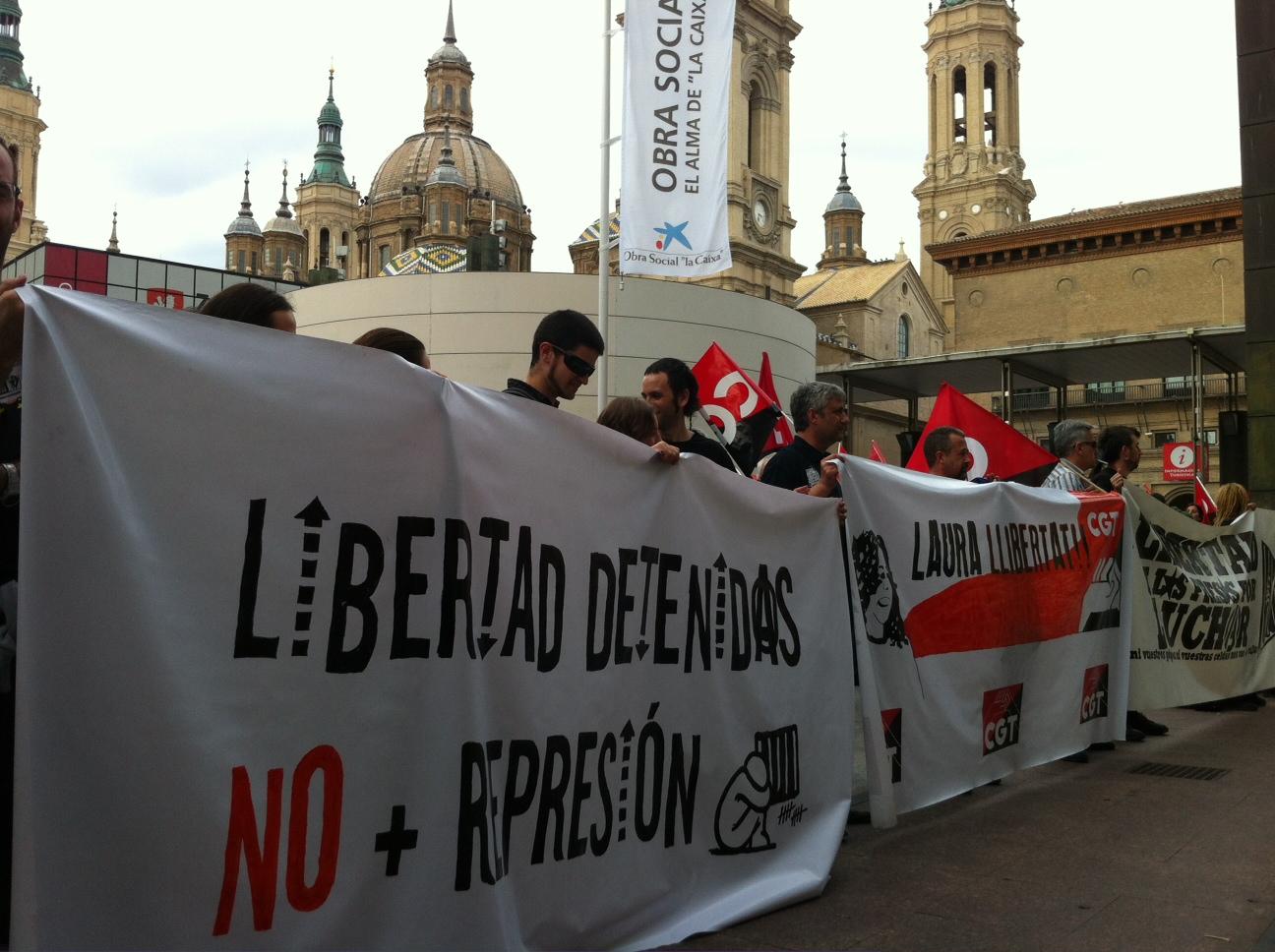 CGT ante las detenciones del 29 de mayo en Barcelona y Reus