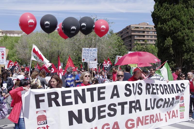 Fotos del 1º de mayo en Granada