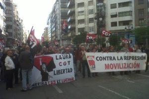 300 personas exigen en Valencia la libertad de Laura Gómez