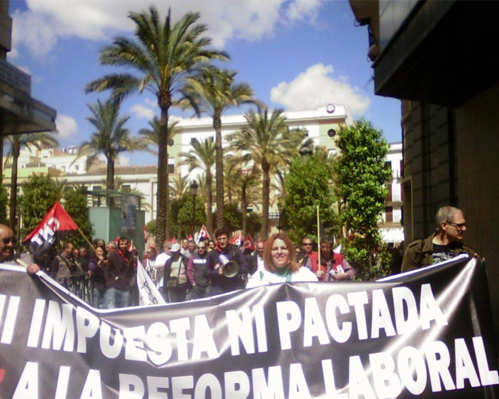 1º de Mayo en Chiclana-Jerez