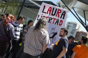 Valladolid 9m: Concentración por la libertad de Laura Gómez