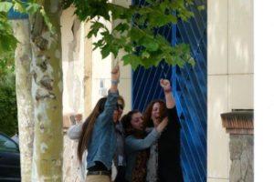 Fotos de la liberación de Laura