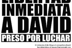 Entrevista a David.- Actualización de la campaña por su libertad