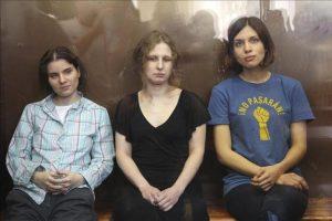 Las Pussy Riot condenadas a dos años de prisión