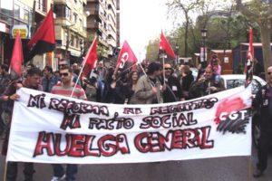 Llamamiento a la Manifestación Estatal del 15-S y por la Huelga General