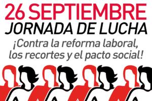 26S: Declaración del Sindicalismo de Clase y Alternativo