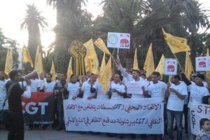 Apoyo Internacional de CDT Roca a la lucha de CGT en españa contra el gobierno y la policía
