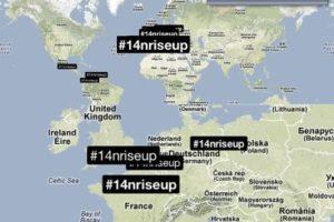 #14NRiseUp se convierte en número uno 'trending topic' mundial