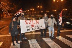 29 años de EZLN presentes con la CGT en la Huelga General del 14N