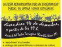 Tarragona: Fiesta reivindicativa por una enseñanza pública, en catalán y sin recortes