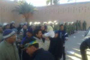 Las autoridades de Ouarzazate intentan eliminar el sindicalismo combativo