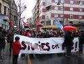 Marcha celebrada en Gijón el sábado día 23