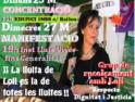 Manifiesto del grupo de apoyo a Dolors Carrasquilla por el Respeto, la Dignidad y la Justicia