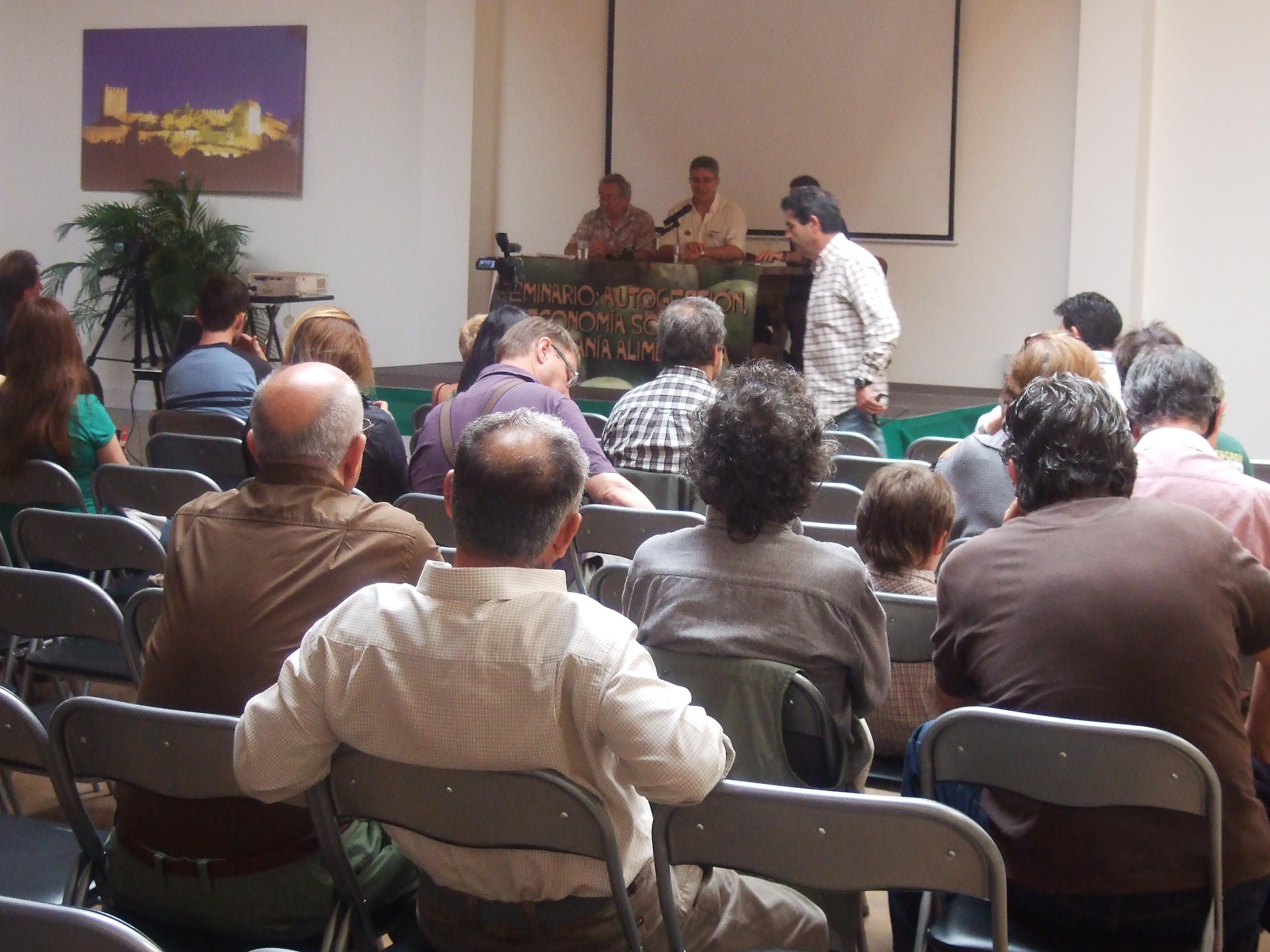 El alcalde de Castellar critica la cerrazón de los gerentes de La Almoraima en la inauguración de las jornadas de CGT