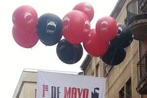 Crónicas e imágenes del 1 de Mayo