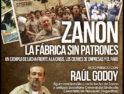 Raúl Godoy, referente histórico de los obreros de Zanon, visita Barcelona