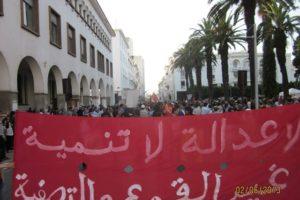 Marruecos: Jornada nacional de lucha contra la represión, por la libertad de los presos políticos y por el respeto de las libertades y de los derechos humanos