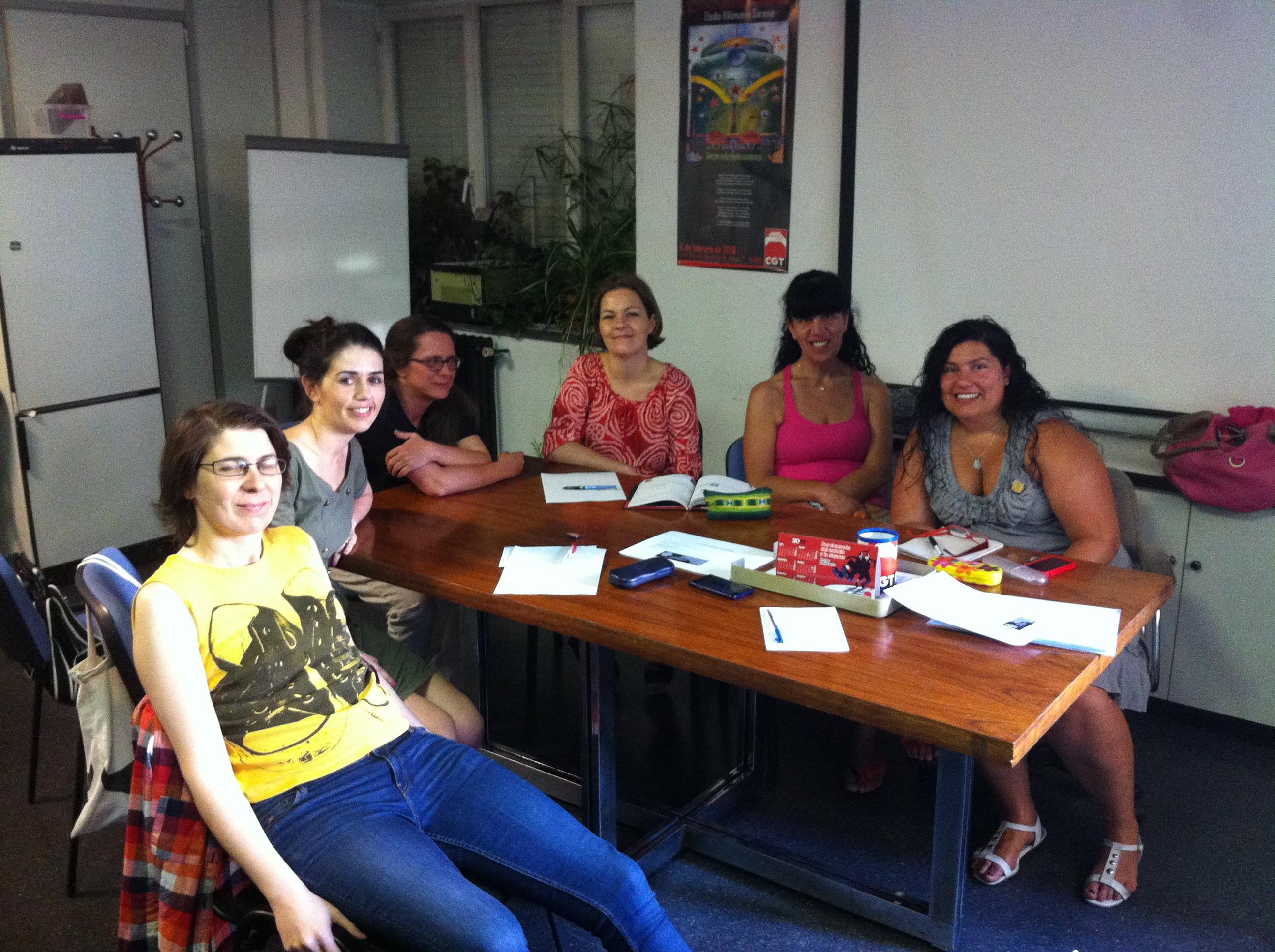 Constitución del grupo de Mujeres en CGT-Madrid