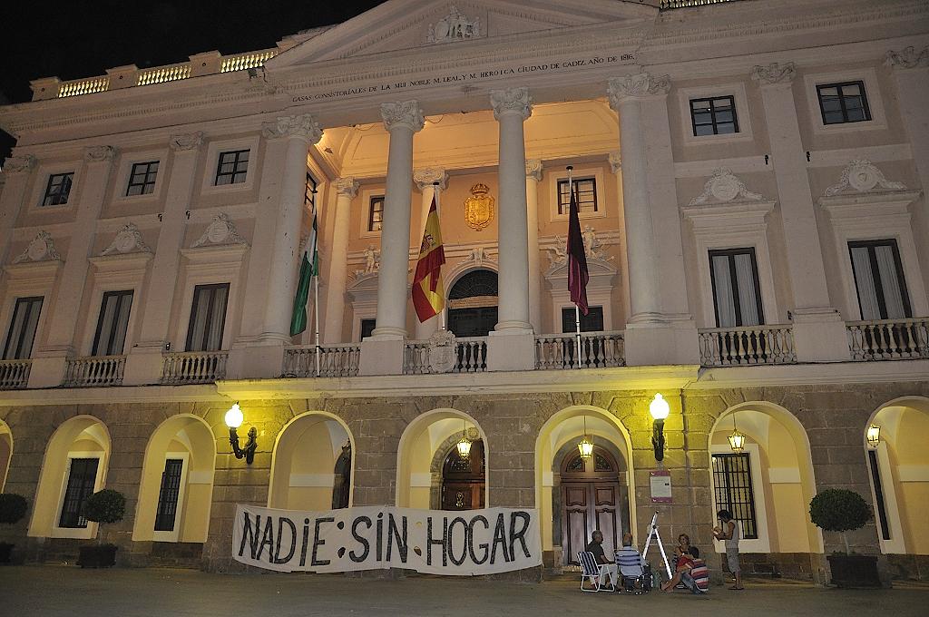 El 15M Cádiz por el derecho a la vivienda