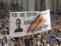CGT apoya las movilizaciones en respuesta ante las » beatificaciones de los mártires de España » en Tarragona