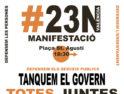 #23N: Manifestación Totes Juntes
