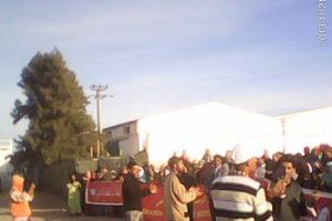 Continúa la lucha de l@s trabajador@s de Douna Export. Solidaridad