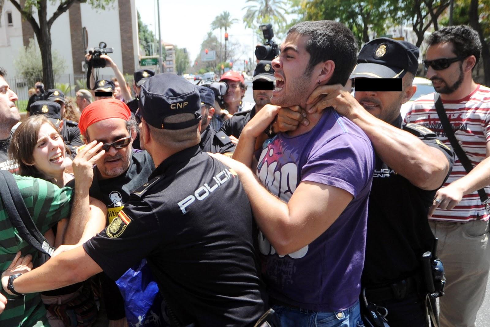La represión, el verdadero lenguaje del poder