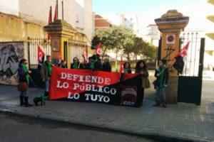 La Campaña de la CGT en defensa de lo público arranca en Zamora