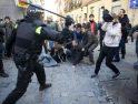 Cuatro detenciones en el desahucio de un enfermo crónico en Lavapiés