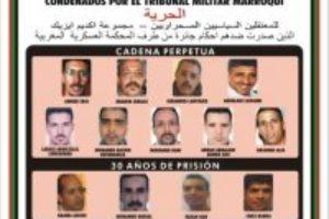 Visita de una delegación a la prisión de Salé-Rabat donde se encuentran los presos políticos saharauis de Gdeim Izik