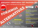 Jornadas Libertarias Palencia 2014: «Forjemos Alternativas»