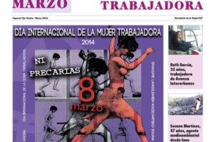 Especial 8 de Marzo 2014, Día Internacional de la Mujer Trabajadora