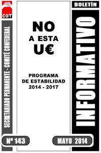 Boletín 143 No a esta U€