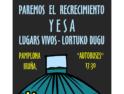 31M: Manifestación en Pamplona contra el recrecimiento de Yesa