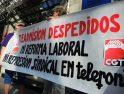 [Fotos] Concentración en Alicante para protestar contra los despidos en Telefónica