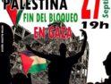 27-S: Manifestación en solidaridad con Palestina