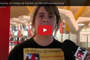 18 personas en huelga de hambre por #AsiloParaHassanna